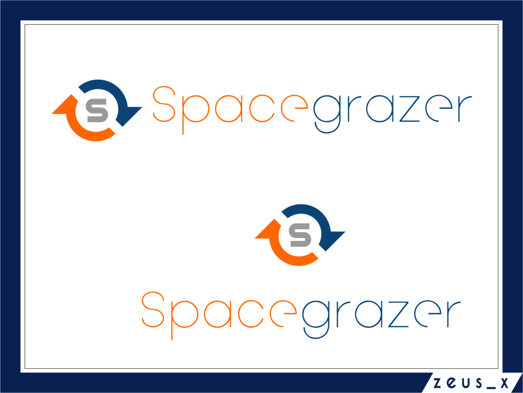 Logo Design by RasYa Muhammad Athaya - Entry No. 122 in the Logo Design Contest Fun Logo Design for Spacegrazer.
