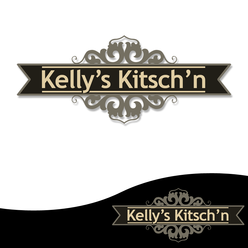 Logo Design by Private User - Entry No. 96 in the Logo Design Contest Unique Logo Design Wanted for Kelly's Kitsch'n.