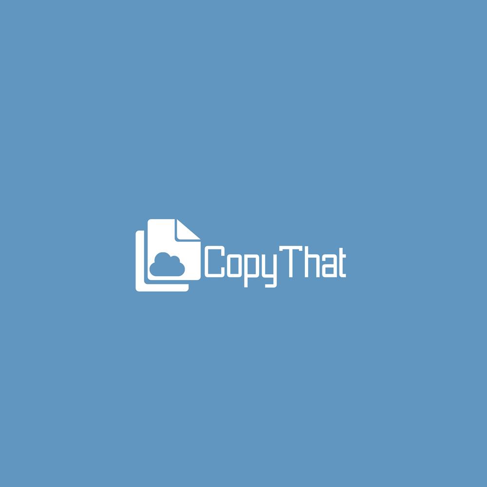 Logo Design by Utkarsh Bhandari - Entry No. 47 in the Logo Design Contest Inspiring Logo Design for CopyThat.