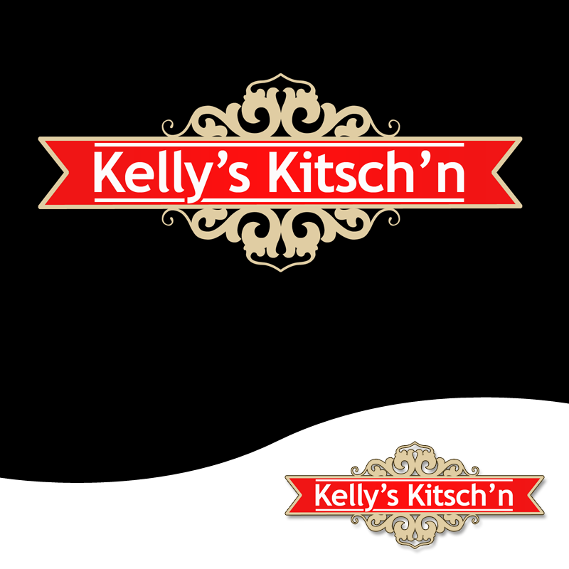Logo Design by Private User - Entry No. 97 in the Logo Design Contest Unique Logo Design Wanted for Kelly's Kitsch'n.