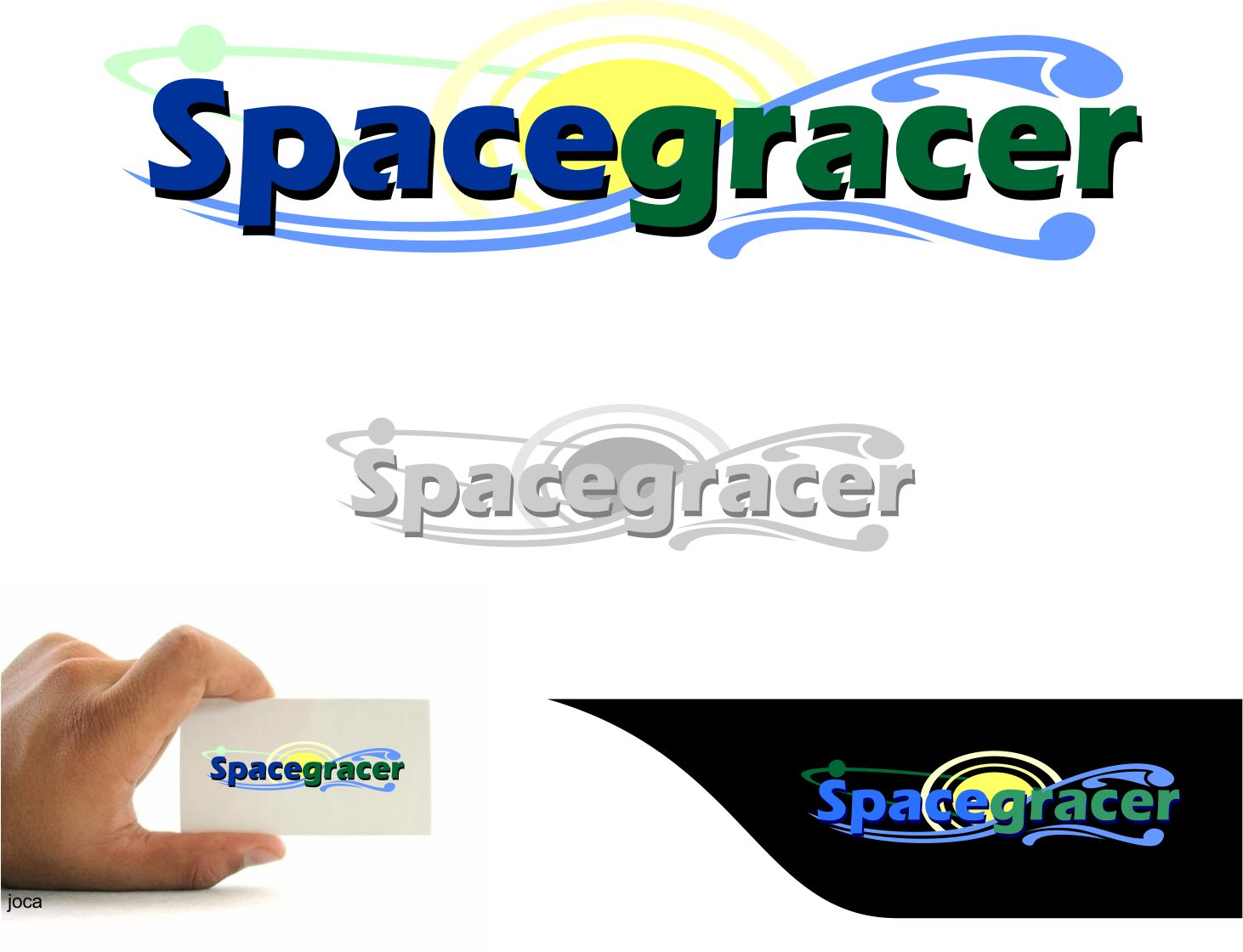 Logo Design by joca - Entry No. 130 in the Logo Design Contest Fun Logo Design for Spacegrazer.