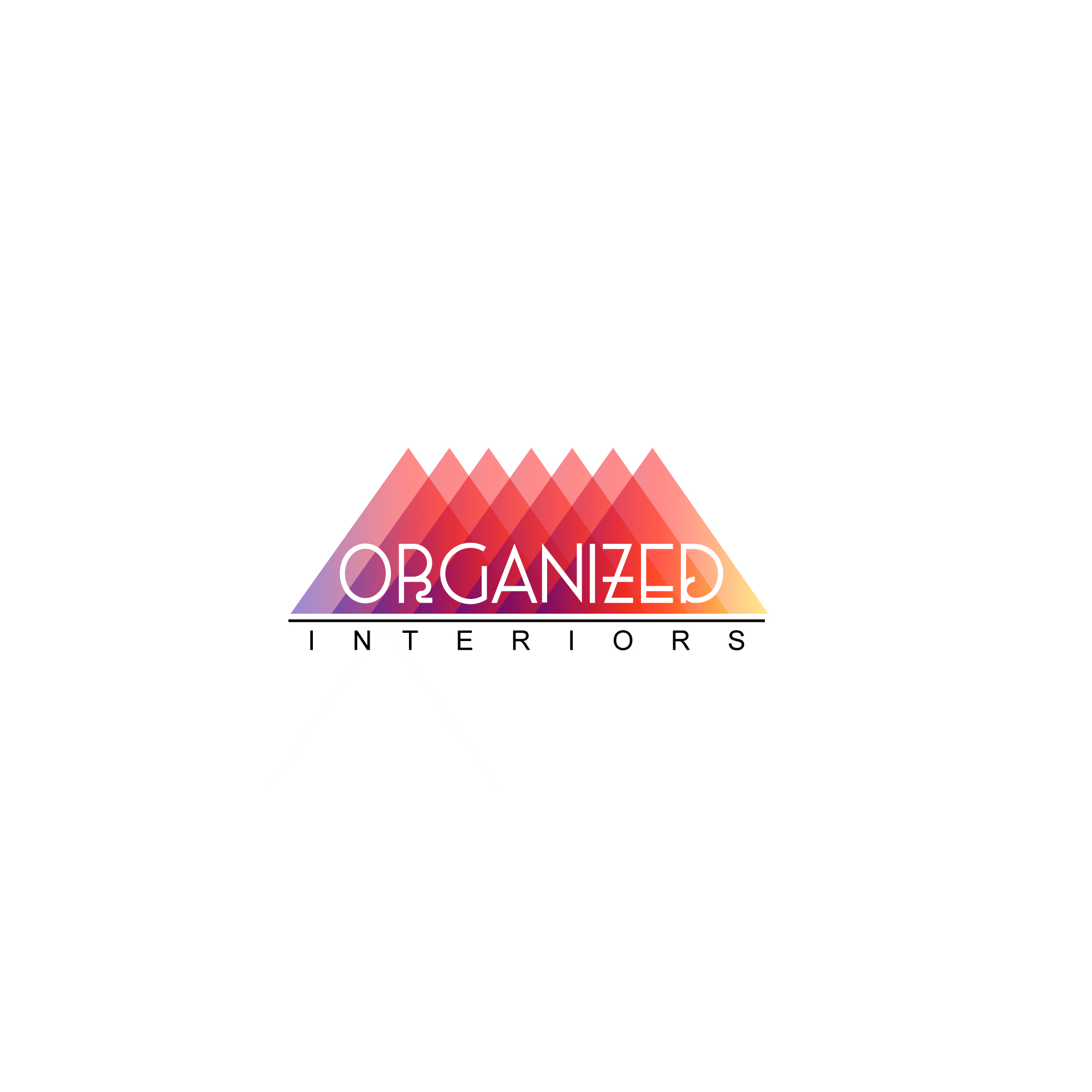 Logo Design by Utkarsh Bhandari - Entry No. 107 in the Logo Design Contest Imaginative Logo Design for Organized Interiors.