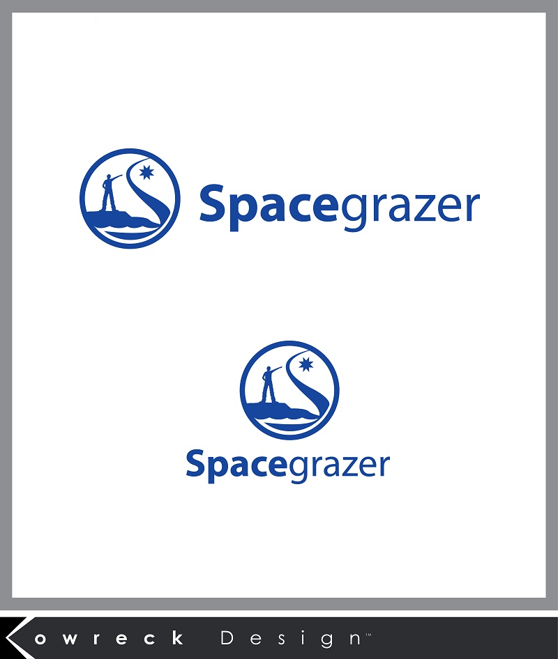 Logo Design by kowreck - Entry No. 133 in the Logo Design Contest Fun Logo Design for Spacegrazer.