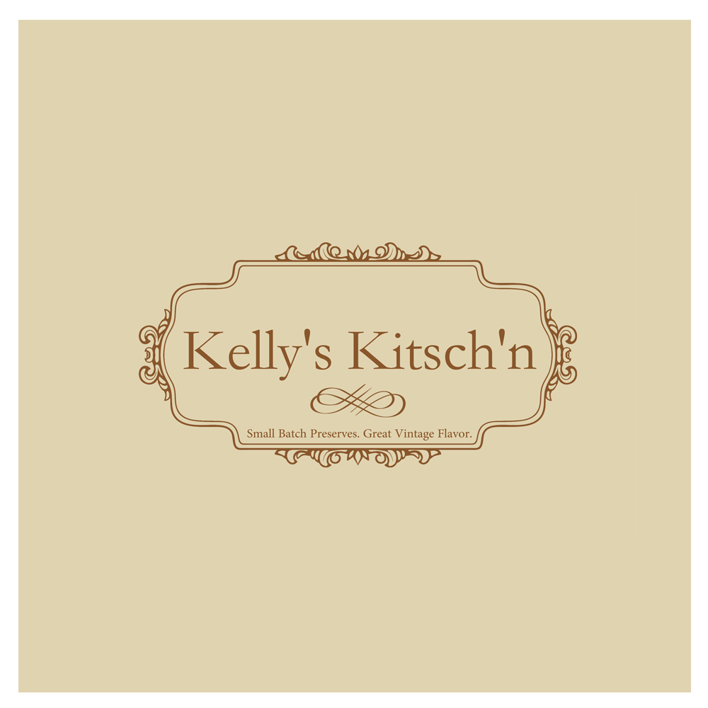 Logo Design by Utkarsh Bhandari - Entry No. 98 in the Logo Design Contest Unique Logo Design Wanted for Kelly's Kitsch'n.