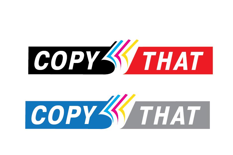 Logo Design by Private User - Entry No. 49 in the Logo Design Contest Inspiring Logo Design for CopyThat.