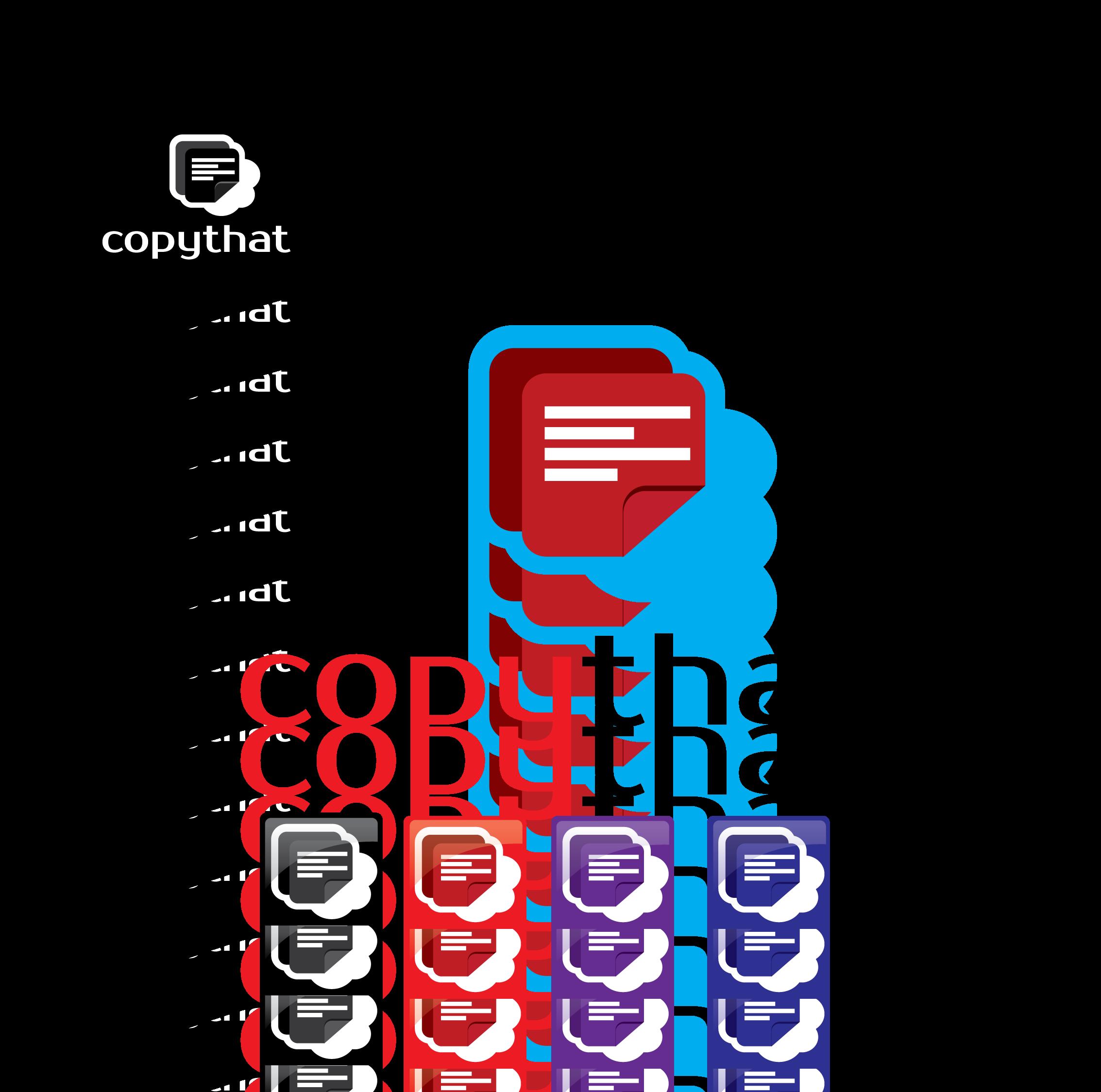 Logo Design by 354studio - Entry No. 50 in the Logo Design Contest Inspiring Logo Design for CopyThat.