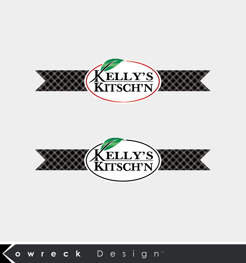 Logo Design by kowreck - Entry No. 105 in the Logo Design Contest Unique Logo Design Wanted for Kelly's Kitsch'n.