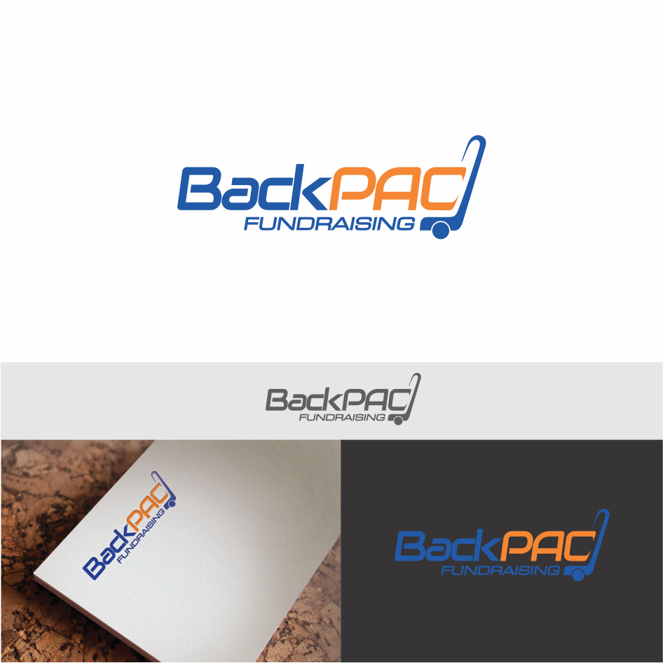 Logo Design by DENOK - Entry No. 9 in the Logo Design Contest Imaginative Logo Design for BackPAC Fundraising.