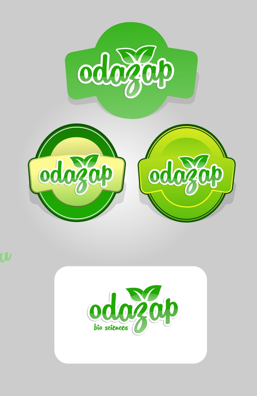 Logo Design by Private User - Entry No. 47 in the Logo Design Contest New Logo Design for ODAZAP.