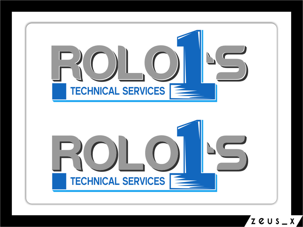 Logo Design by RasYa Muhammad Athaya - Entry No. 10 in the Logo Design Contest Inspiring Logo Design for Rolo1's Technical Services.