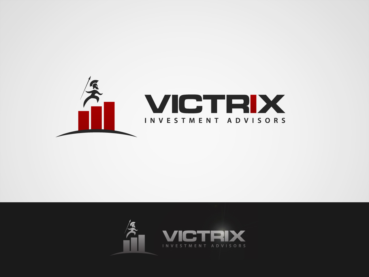 Logo Design by jpbituin - Entry No. 128 in the Logo Design Contest Inspiring Logo Design for Victrix Investment Advisors.