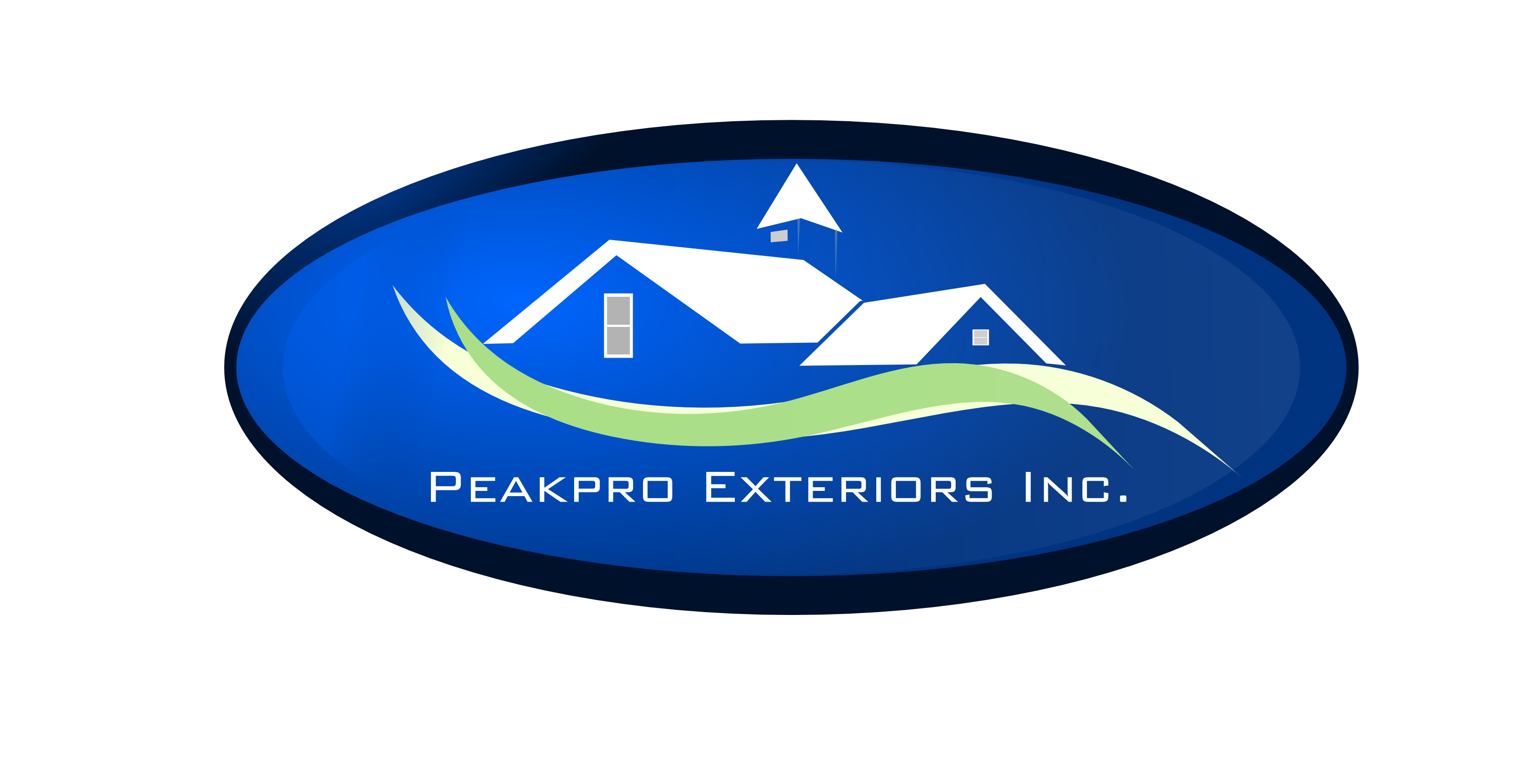 Logo Design by Arindam Khanda - Entry No. 32 in the Logo Design Contest Captivating Logo Design for Peakpro Exteriors Inc..