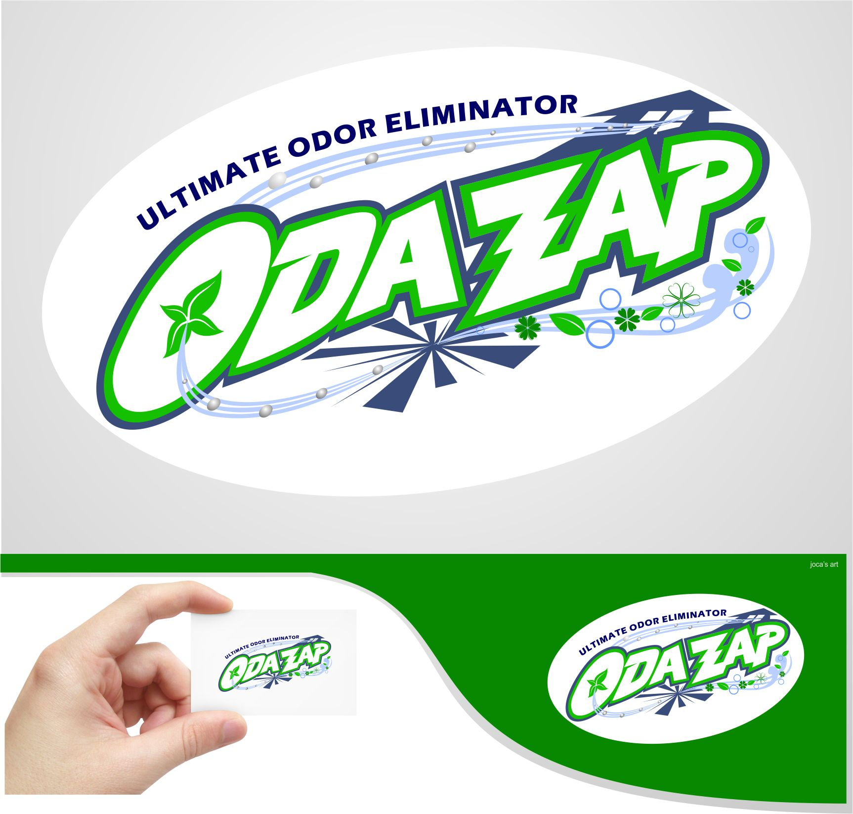 Logo Design by joca - Entry No. 56 in the Logo Design Contest New Logo Design for ODAZAP.