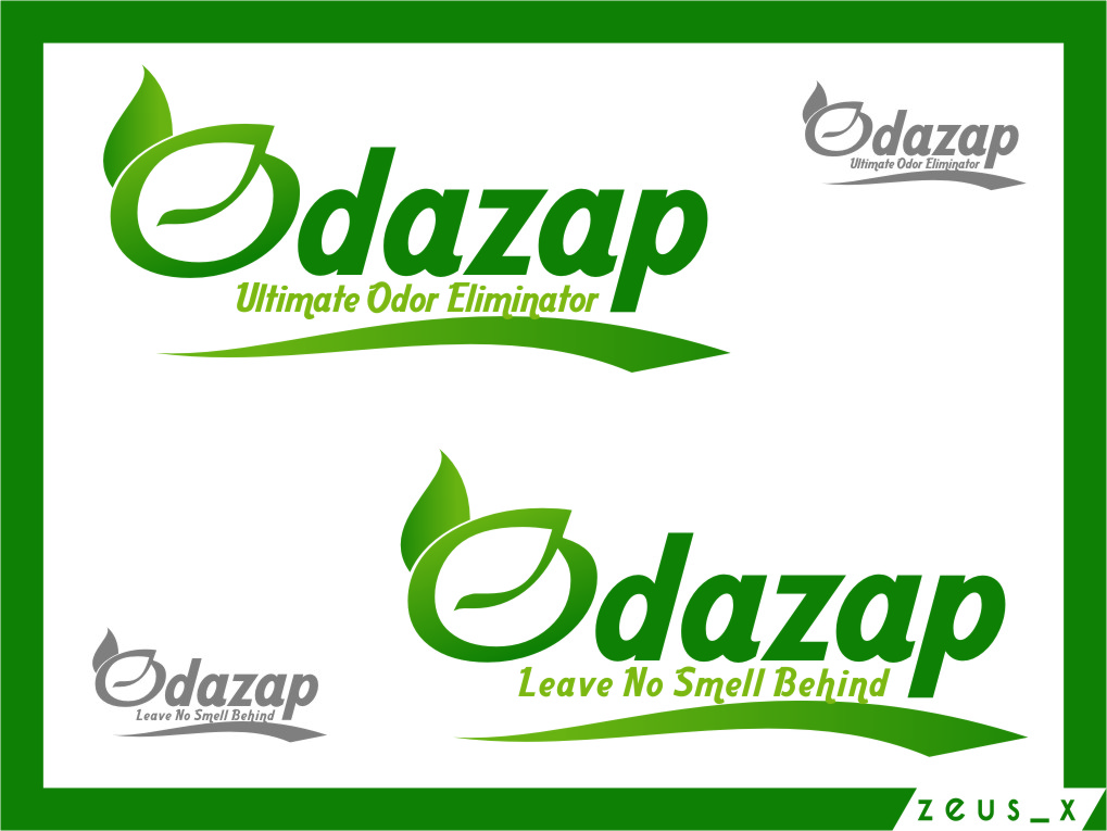 Logo Design by RasYa Muhammad Athaya - Entry No. 59 in the Logo Design Contest New Logo Design for ODAZAP.