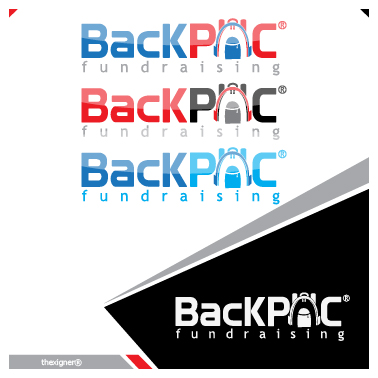 Logo Design by lagalag - Entry No. 15 in the Logo Design Contest Imaginative Logo Design for BackPAC Fundraising.