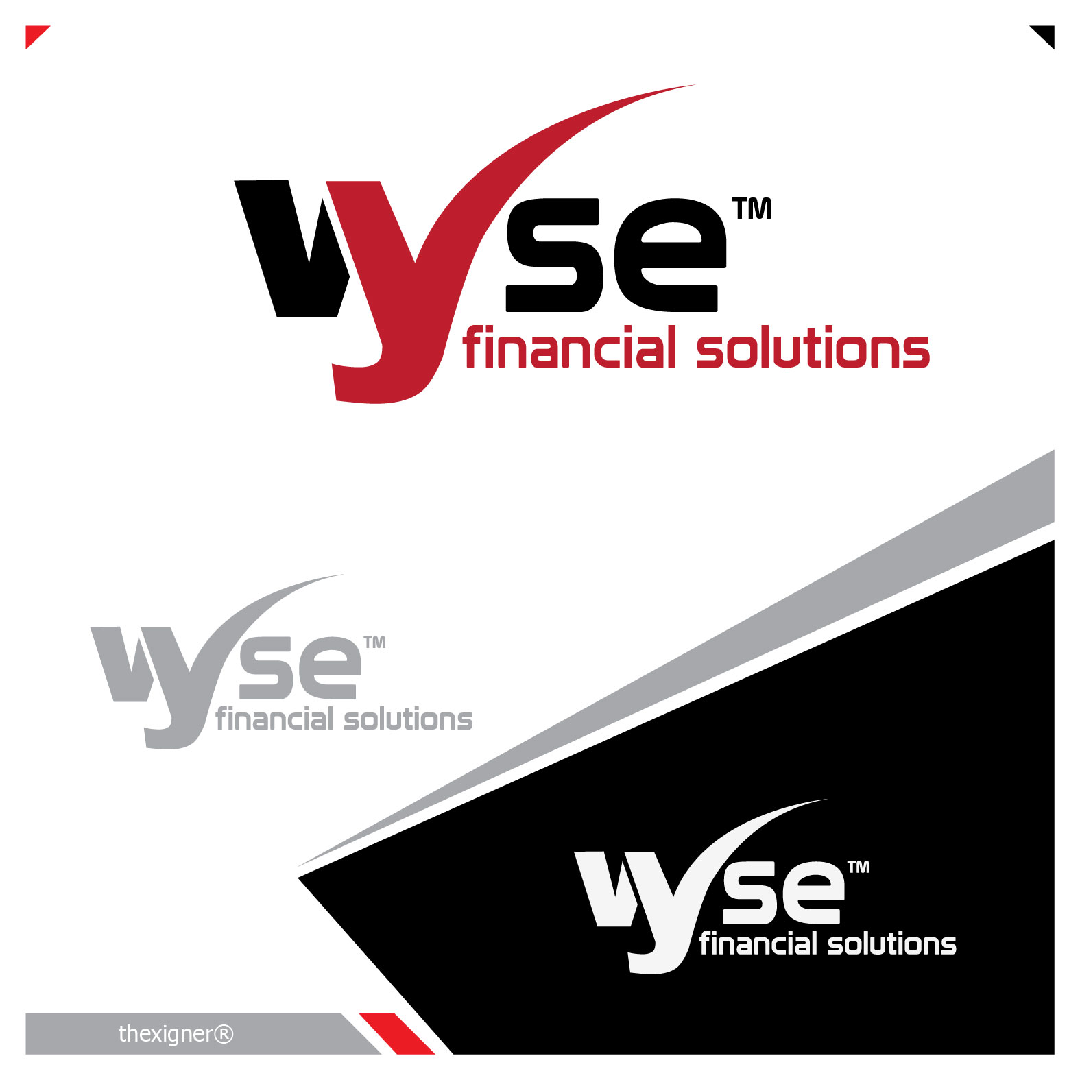 Logo Design by lagalag - Entry No. 17 in the Logo Design Contest Fun Logo Design for Wyse Financial Solutions.