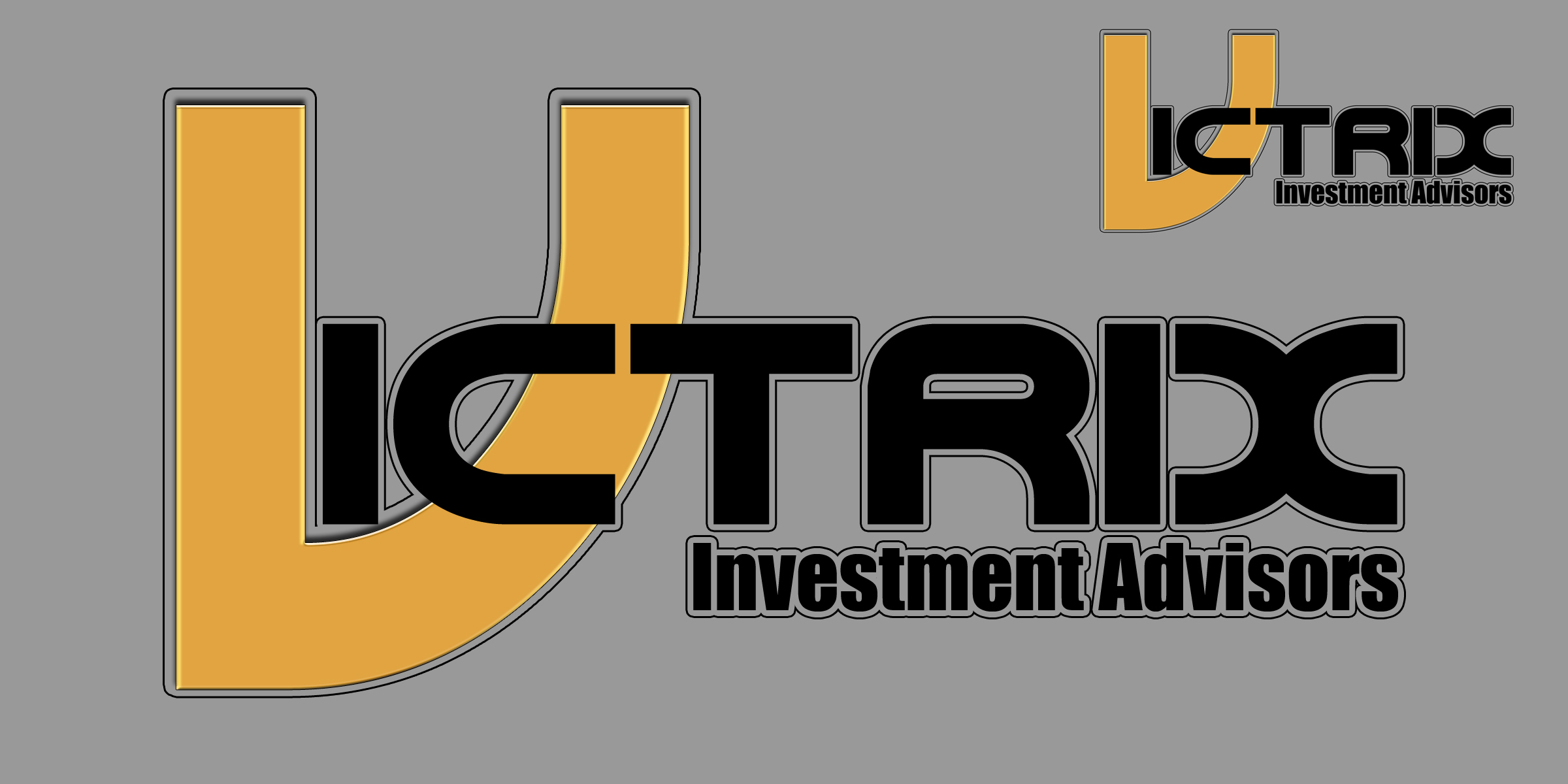 Logo Design by MITUCA ANDREI - Entry No. 143 in the Logo Design Contest Inspiring Logo Design for Victrix Investment Advisors.