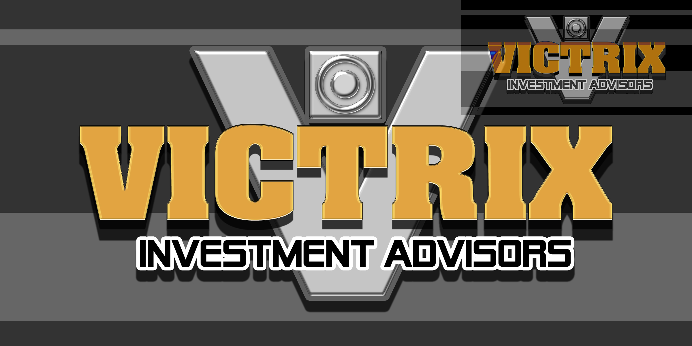 Logo Design by MITUCA ANDREI - Entry No. 144 in the Logo Design Contest Inspiring Logo Design for Victrix Investment Advisors.