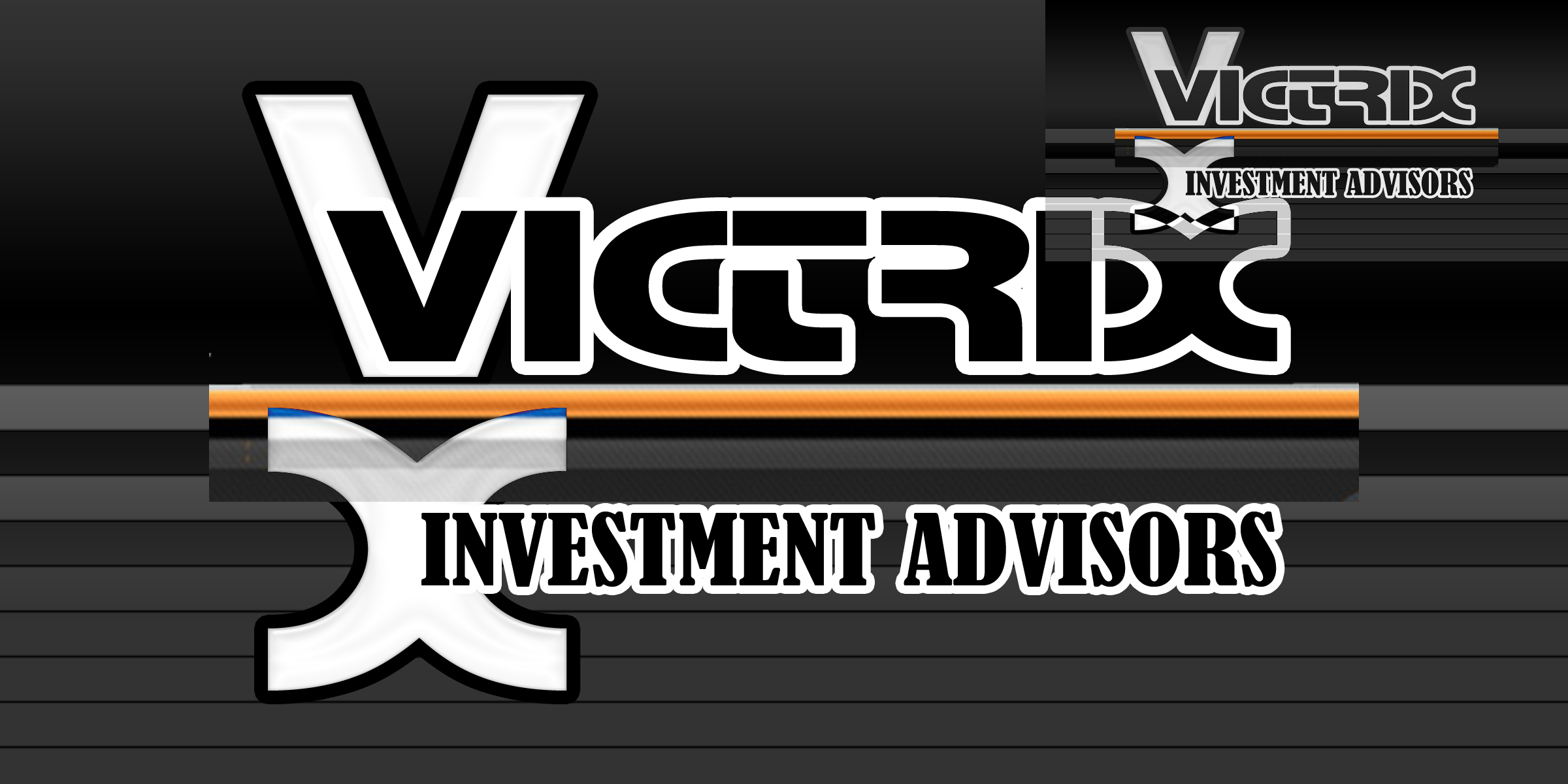 Logo Design by MITUCA ANDREI - Entry No. 145 in the Logo Design Contest Inspiring Logo Design for Victrix Investment Advisors.