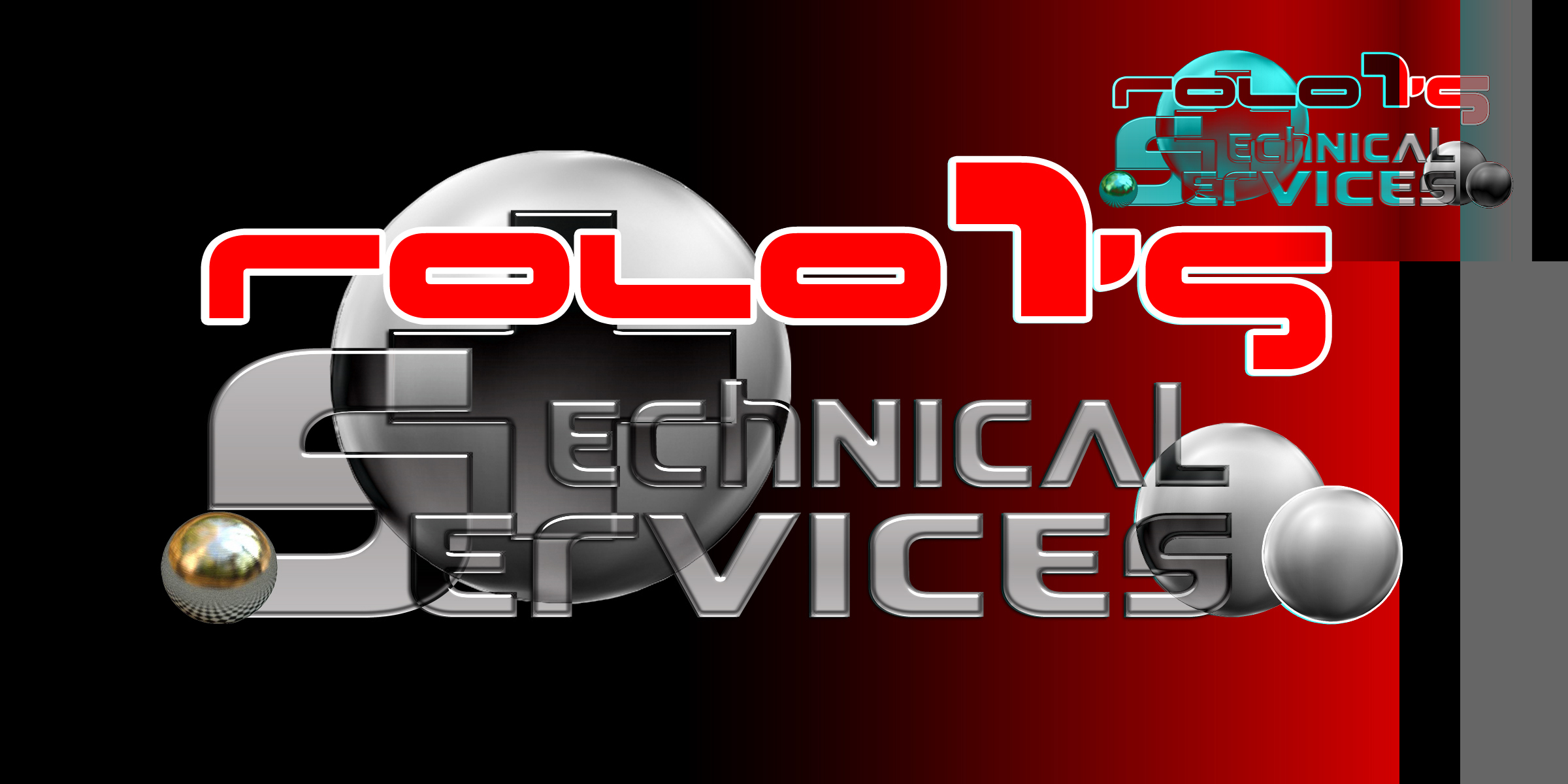Logo Design by MITUCA ANDREI - Entry No. 21 in the Logo Design Contest Inspiring Logo Design for Rolo1's Technical Services.