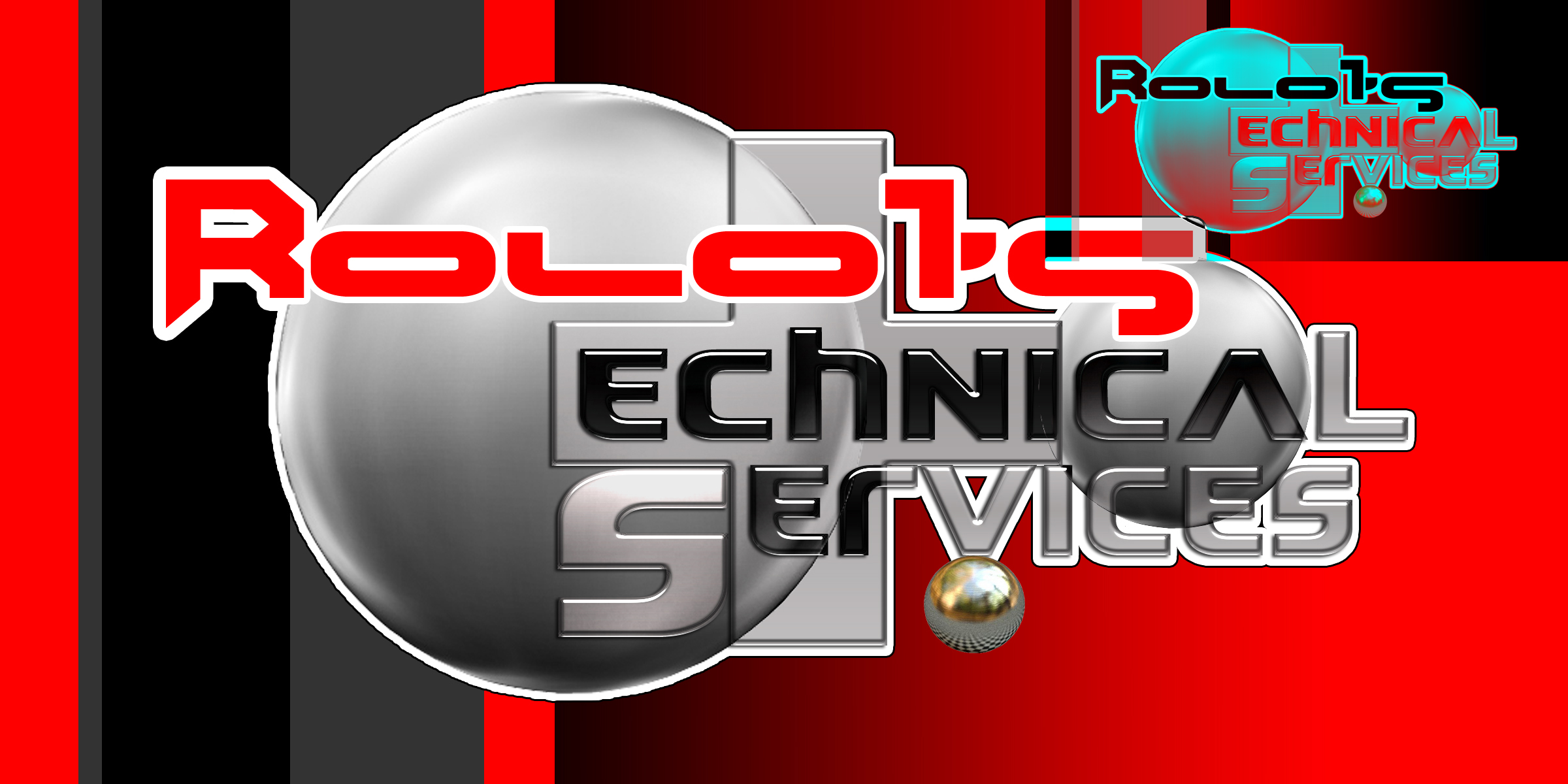 Logo Design by MITUCA ANDREI - Entry No. 22 in the Logo Design Contest Inspiring Logo Design for Rolo1's Technical Services.