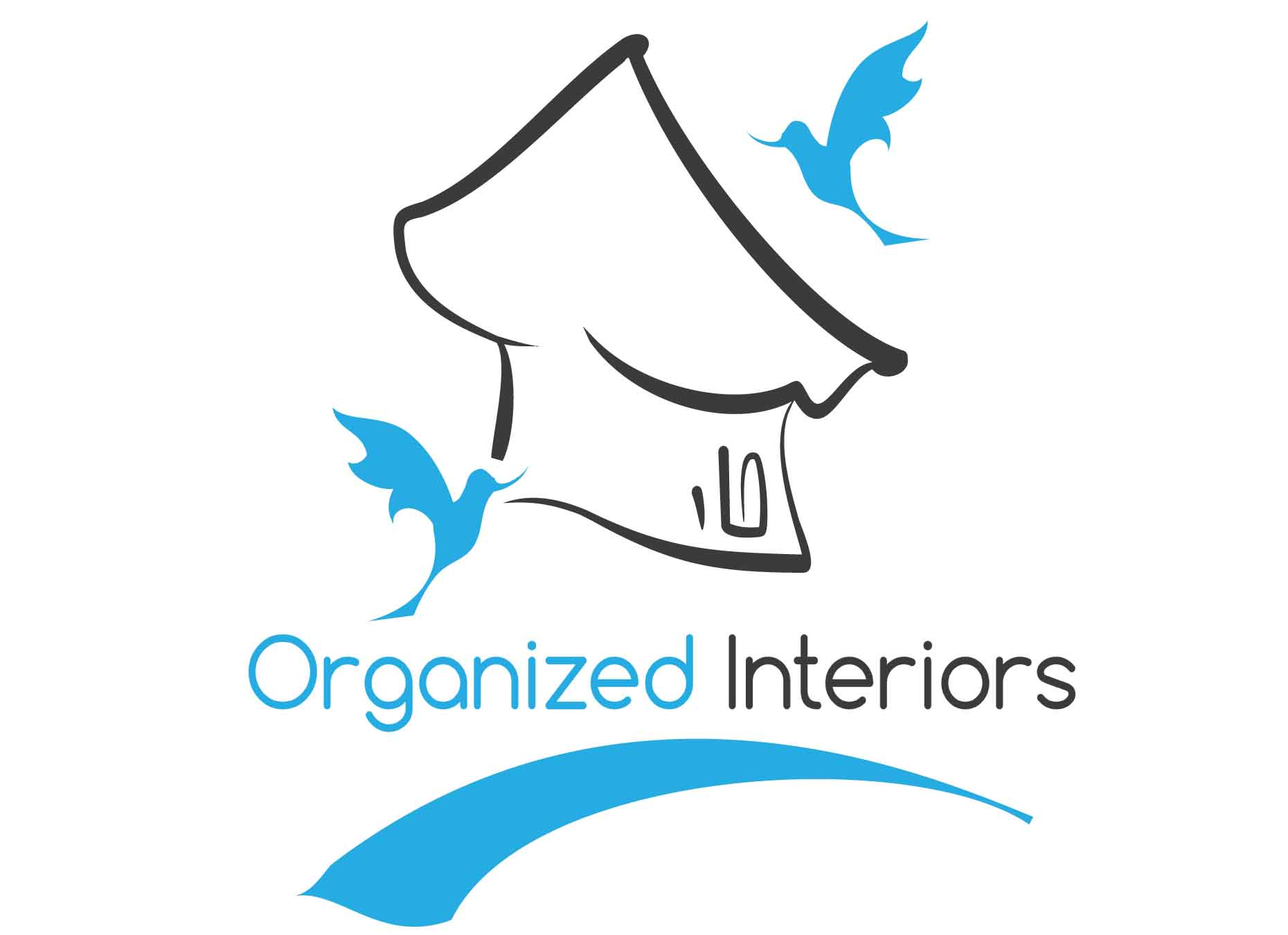 Logo Design by mediaproductionart - Entry No. 117 in the Logo Design Contest Imaginative Logo Design for Organized Interiors.