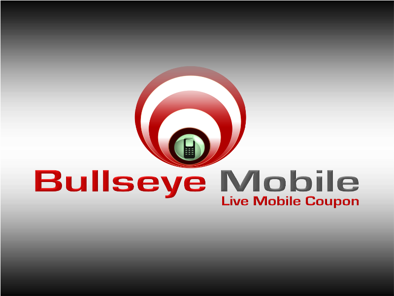 Logo Design by openartposter - Entry No. 150 in the Logo Design Contest Bullseye Mobile.