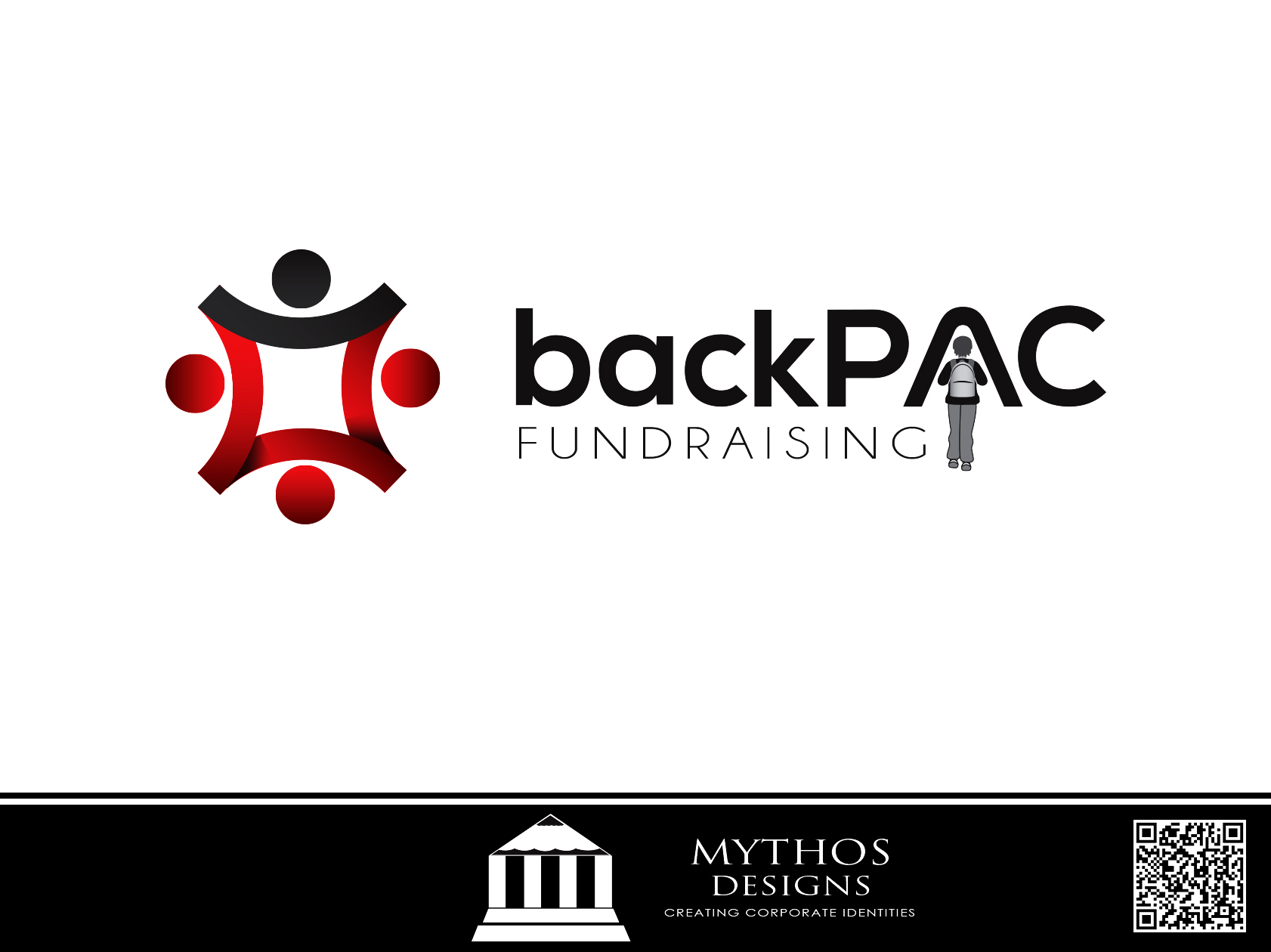 Logo Design by Mythos Designs - Entry No. 17 in the Logo Design Contest Imaginative Logo Design for BackPAC Fundraising.