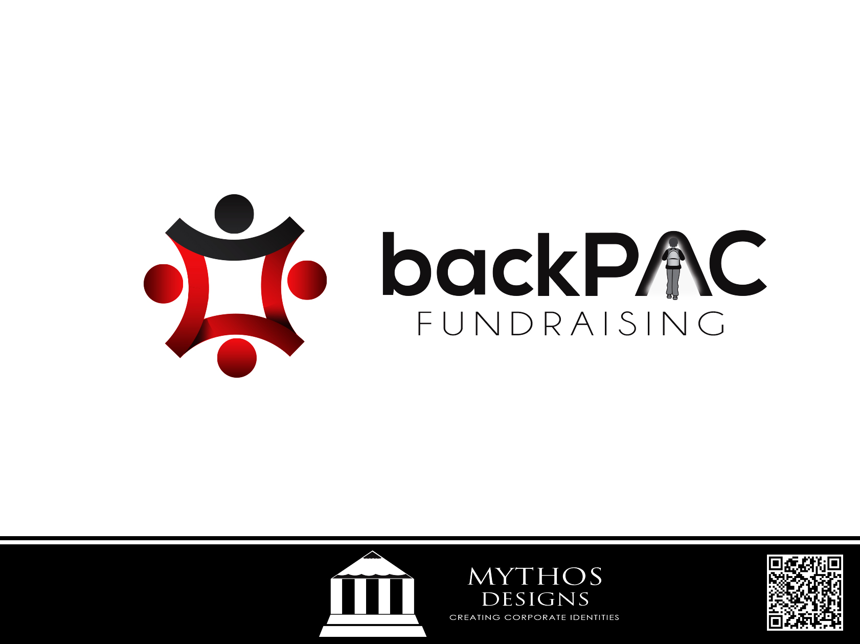 Logo Design by Mythos Designs - Entry No. 18 in the Logo Design Contest Imaginative Logo Design for BackPAC Fundraising.