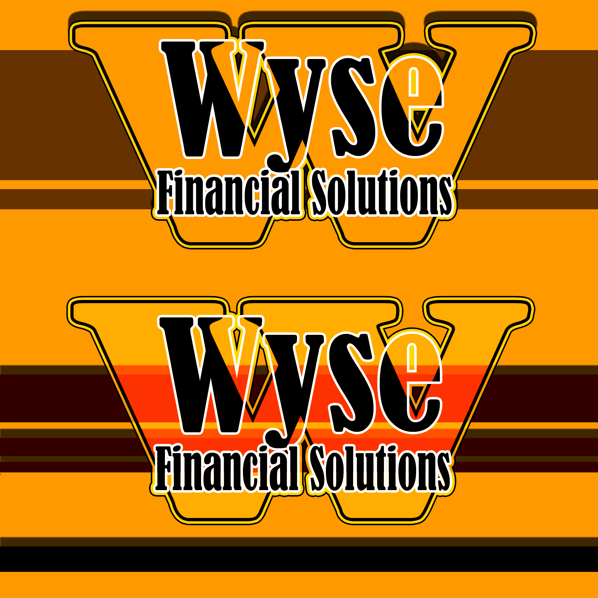 Logo Design by MITUCA ANDREI - Entry No. 19 in the Logo Design Contest Fun Logo Design for Wyse Financial Solutions.