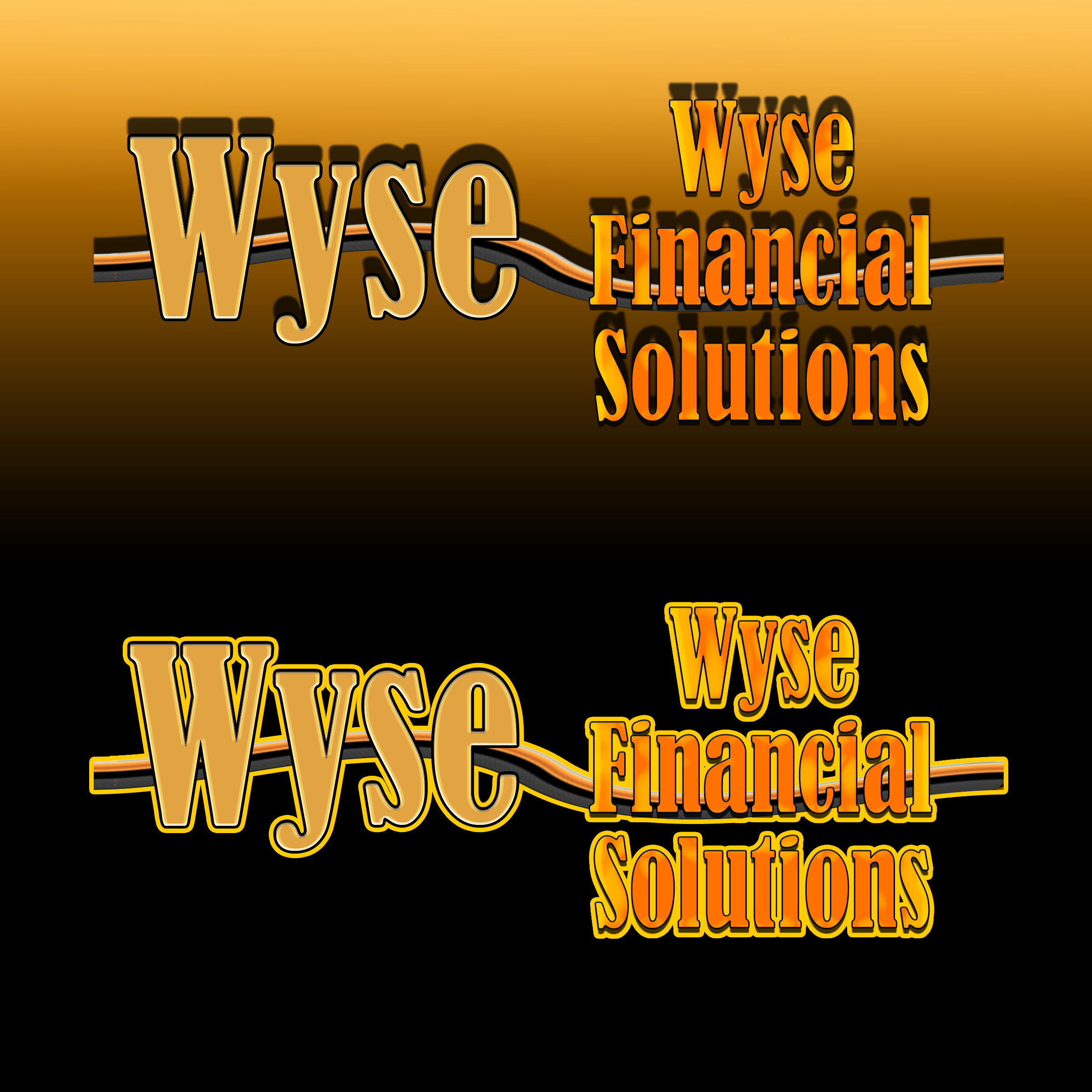 Logo Design by MITUCA ANDREI - Entry No. 20 in the Logo Design Contest Fun Logo Design for Wyse Financial Solutions.