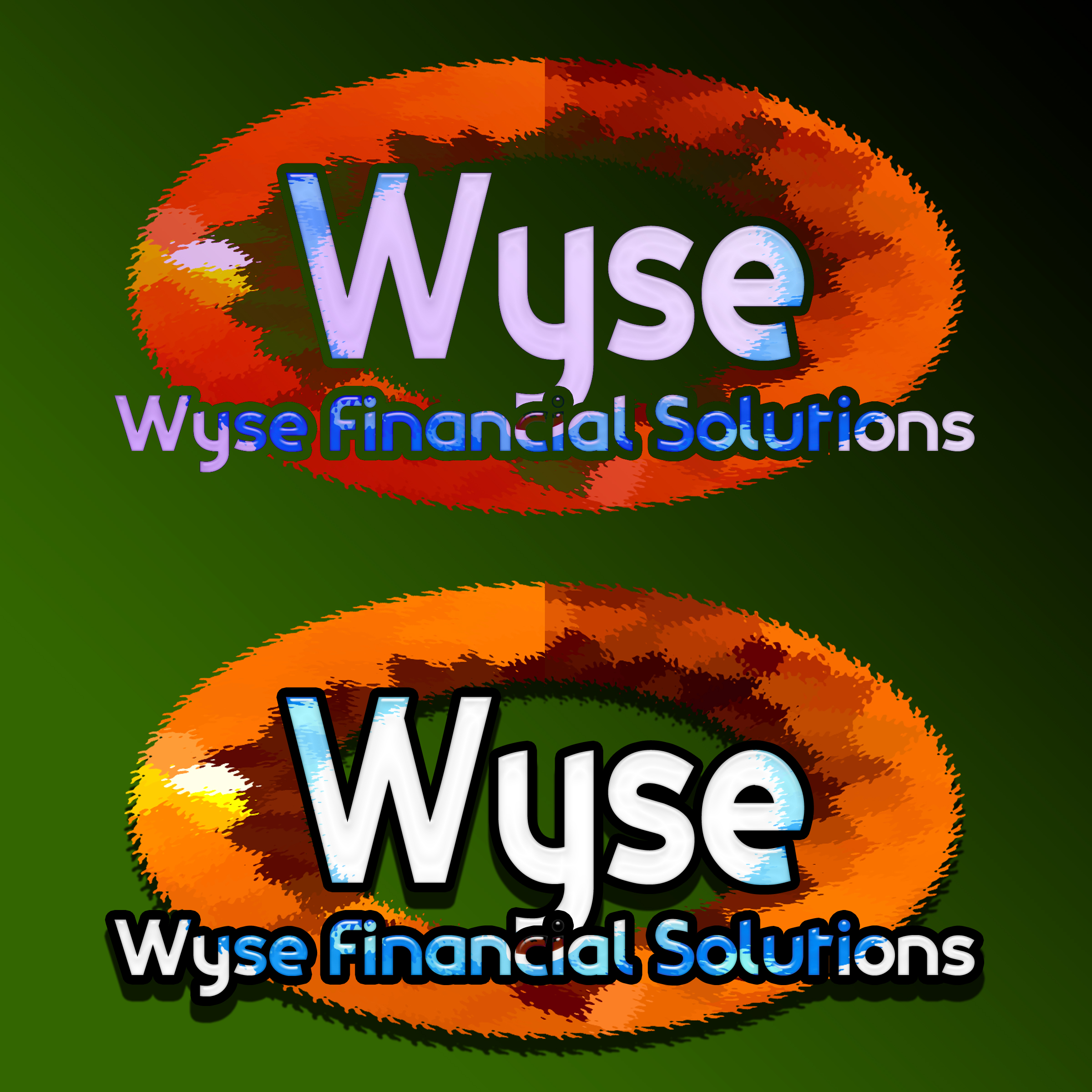 Logo Design by MITUCA ANDREI - Entry No. 21 in the Logo Design Contest Fun Logo Design for Wyse Financial Solutions.