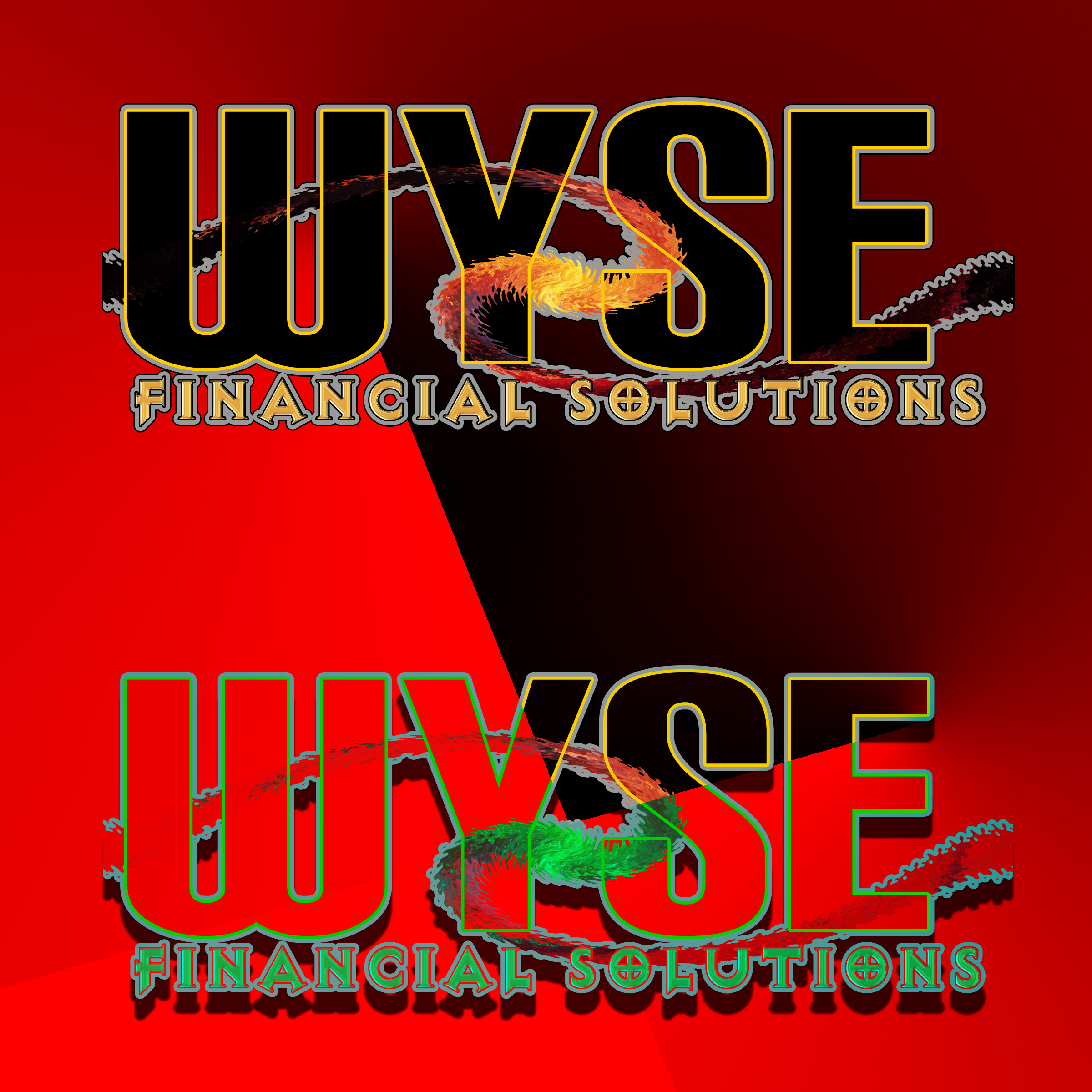 Logo Design by MITUCA ANDREI - Entry No. 22 in the Logo Design Contest Fun Logo Design for Wyse Financial Solutions.