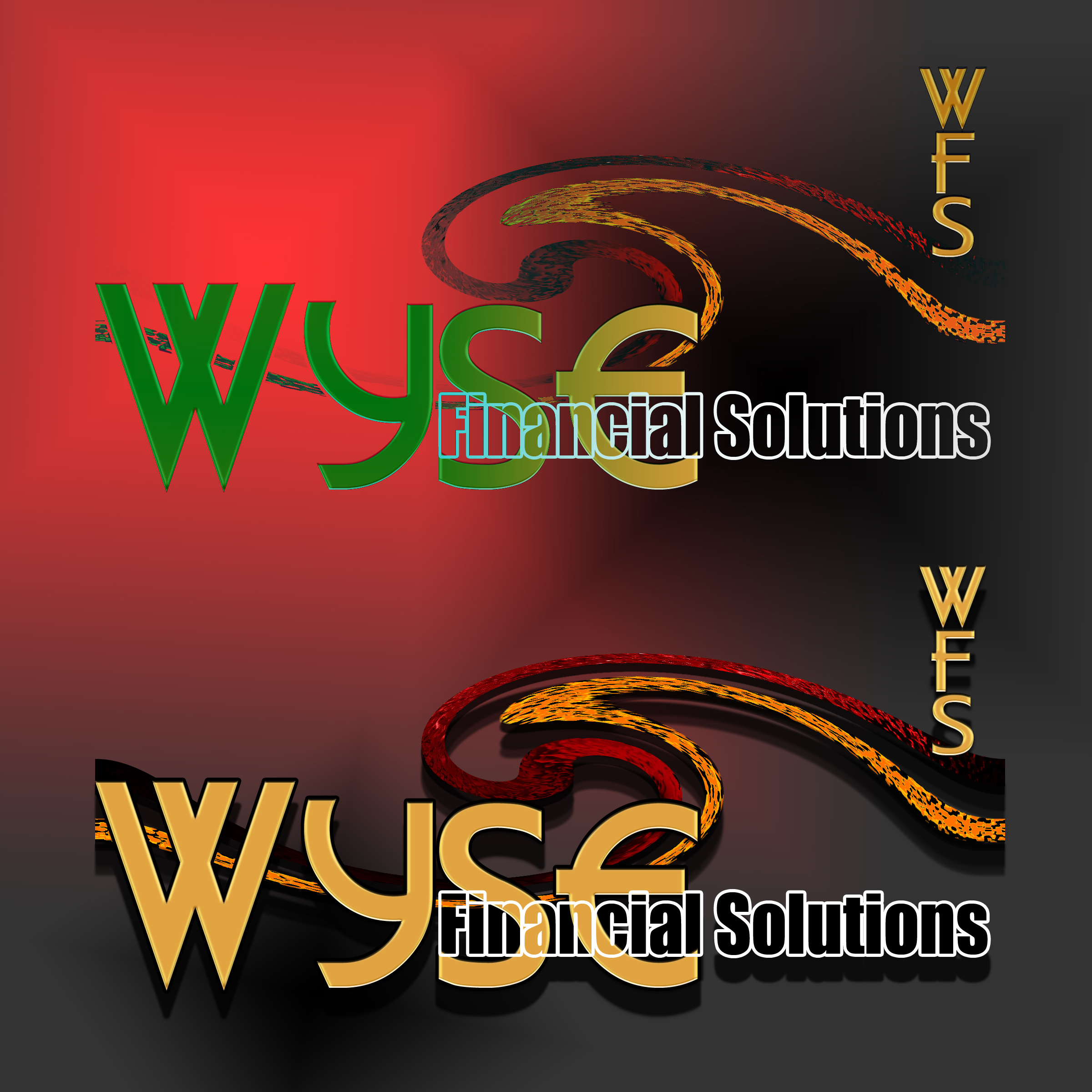Logo Design by MITUCA ANDREI - Entry No. 23 in the Logo Design Contest Fun Logo Design for Wyse Financial Solutions.