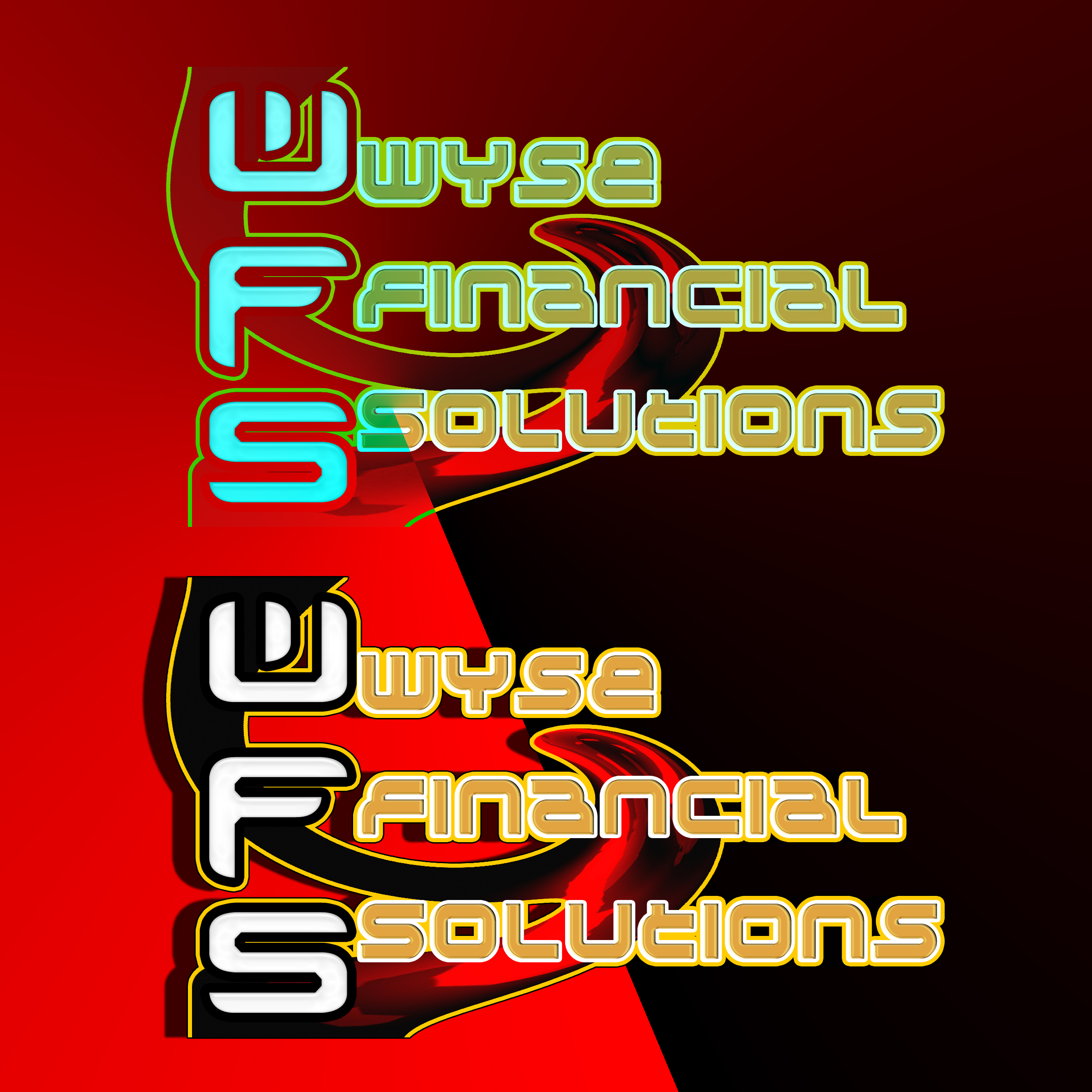 Logo Design by MITUCA ANDREI - Entry No. 24 in the Logo Design Contest Fun Logo Design for Wyse Financial Solutions.