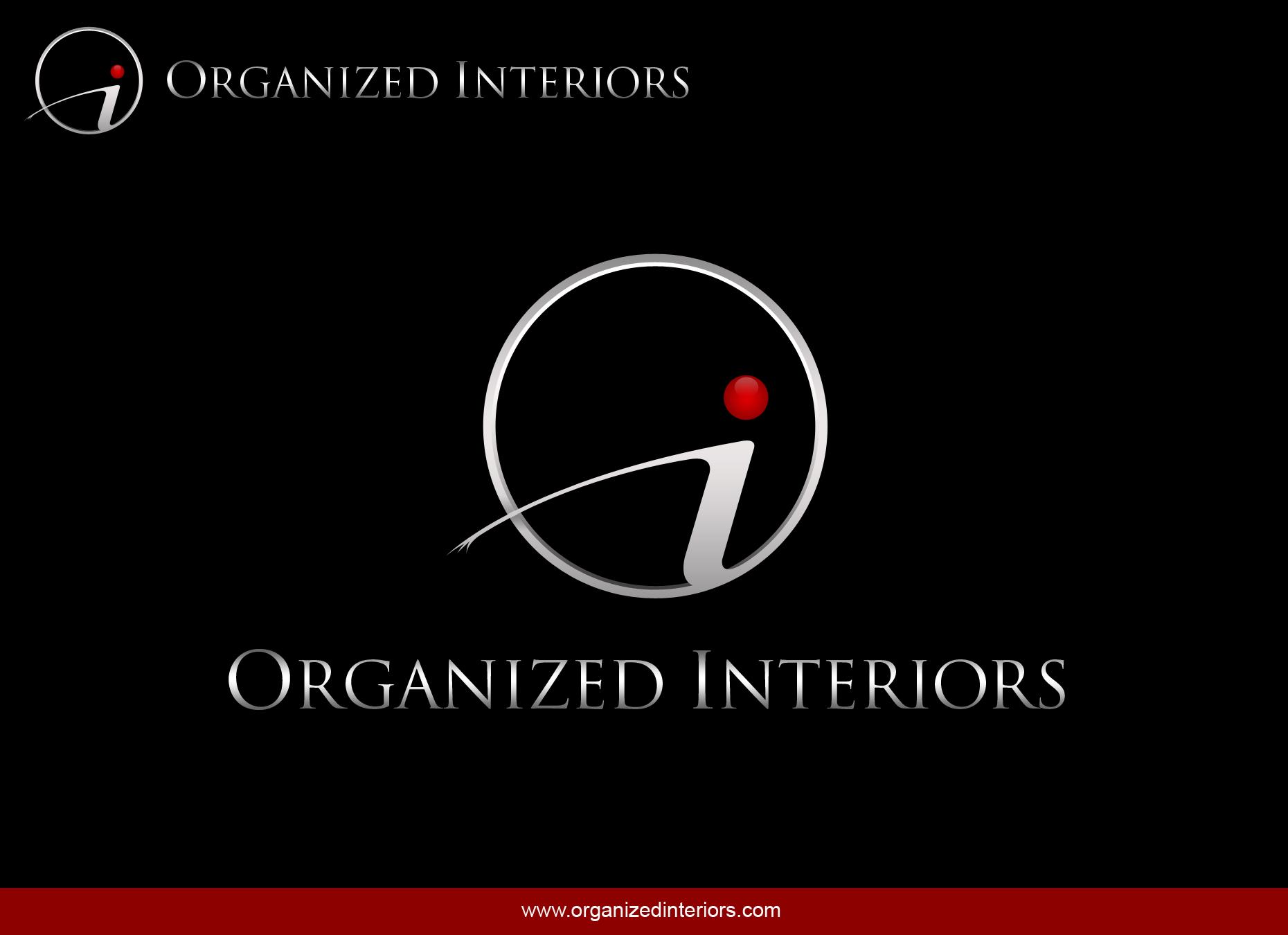 Logo Design by omARTist - Entry No. 121 in the Logo Design Contest Imaginative Logo Design for Organized Interiors.