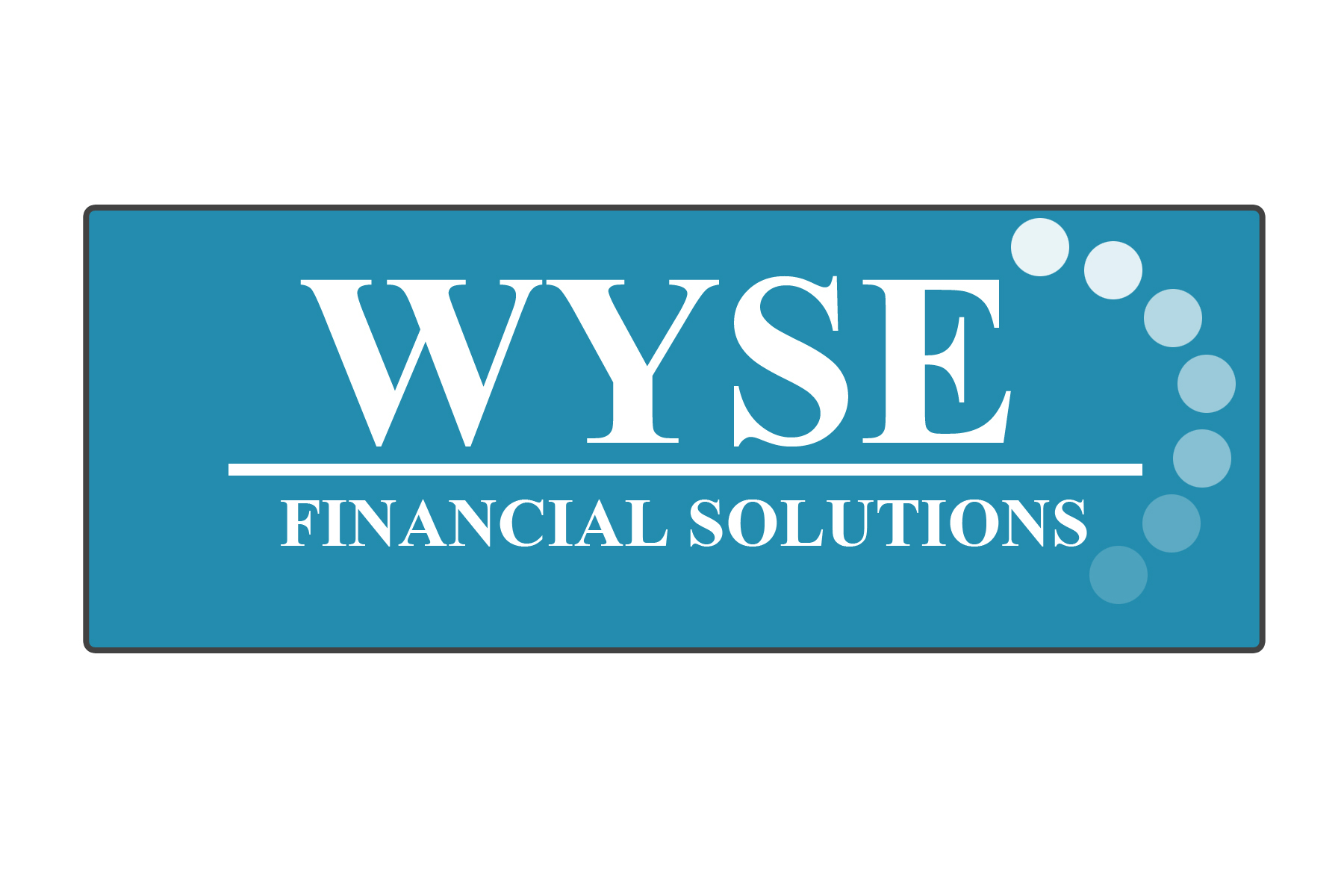 Logo Design by Srikant Budakoti - Entry No. 26 in the Logo Design Contest Fun Logo Design for Wyse Financial Solutions.
