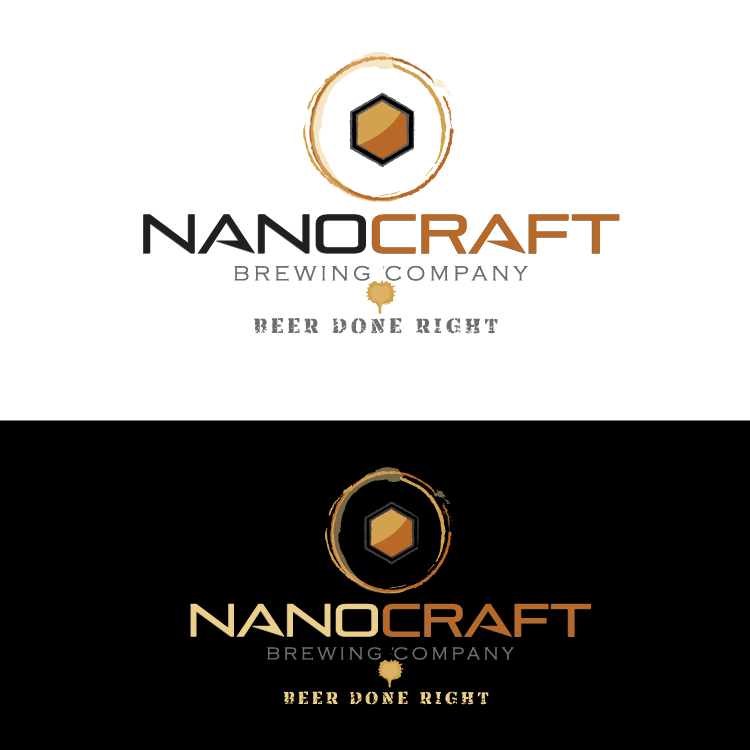 Logo Design by vwArt - Entry No. 82 in the Logo Design Contest Unique Logo Design Wanted for NanoCraft Brewing Company.