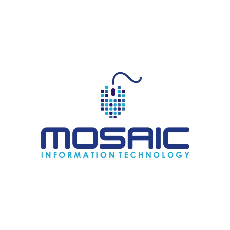 Logo Design by Private User - Entry No. 59 in the Logo Design Contest Mosaic Information Technology Logo Design.