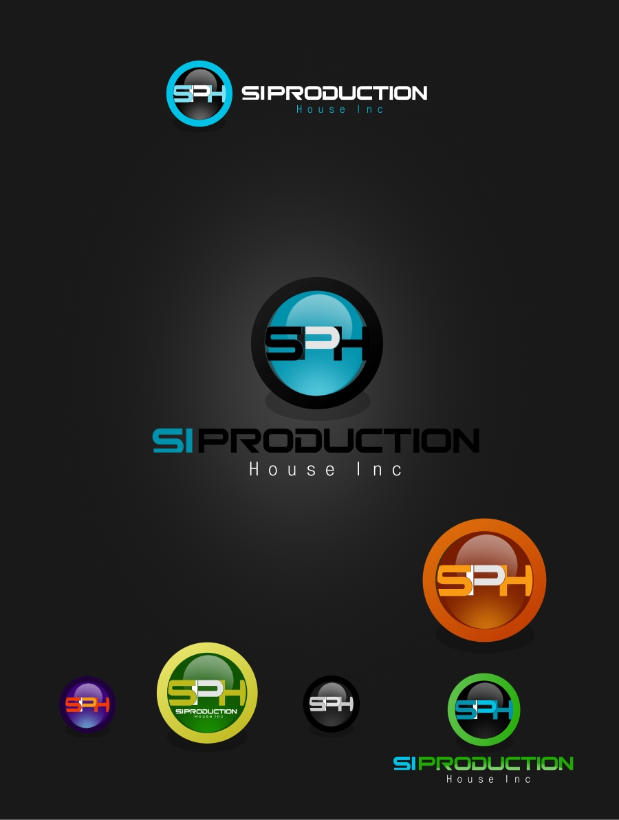 Logo Design by Private User - Entry No. 82 in the Logo Design Contest Si Production House Inc Logo Design.