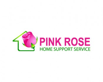Logo Design by IM3D - Entry No. 90 in the Logo Design Contest Pink Rose Home Support Services.