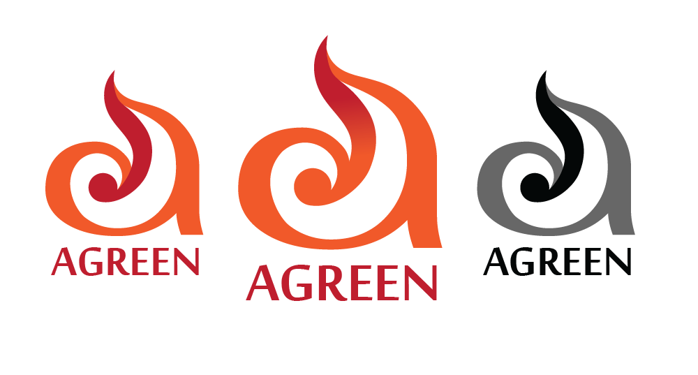Logo Design by Christina Evans - Entry No. 3 in the Logo Design Contest Inspiring Logo Design for Agreen.
