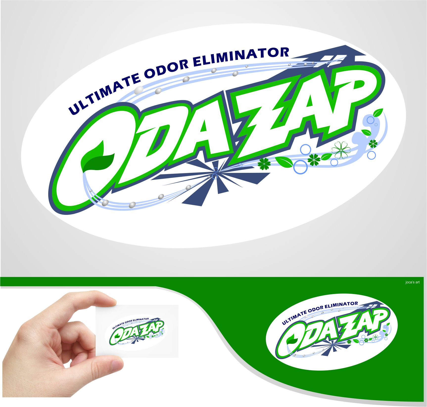 Logo Design by joca - Entry No. 66 in the Logo Design Contest New Logo Design for ODAZAP.