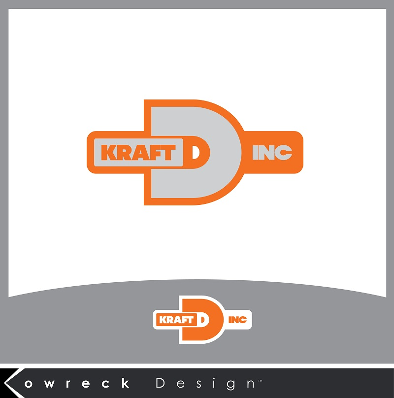 Logo Design by kowreck - Entry No. 13 in the Logo Design Contest Unique Logo Design Wanted for Kraft D Inc.