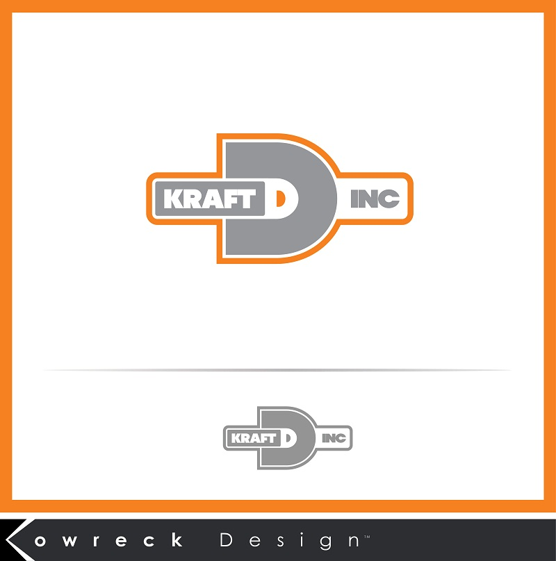 Logo Design by kowreck - Entry No. 14 in the Logo Design Contest Unique Logo Design Wanted for Kraft D Inc.