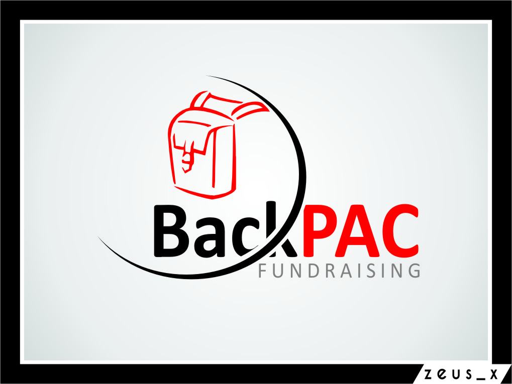 Logo Design by RasYa Muhammad Athaya - Entry No. 20 in the Logo Design Contest Imaginative Logo Design for BackPAC Fundraising.