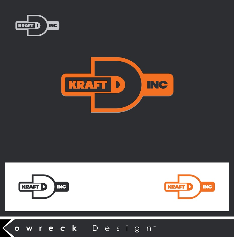 Logo Design by kowreck - Entry No. 15 in the Logo Design Contest Unique Logo Design Wanted for Kraft D Inc.