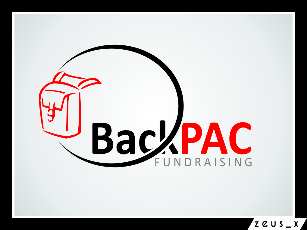 Logo Design by Ngepet_art - Entry No. 21 in the Logo Design Contest Imaginative Logo Design for BackPAC Fundraising.