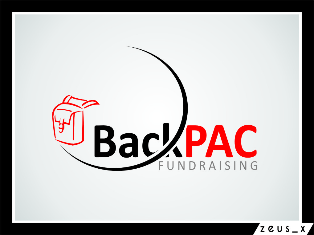 Logo Design by RasYa Muhammad Athaya - Entry No. 22 in the Logo Design Contest Imaginative Logo Design for BackPAC Fundraising.