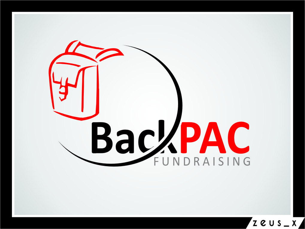 Logo Design by Ngepet_art - Entry No. 24 in the Logo Design Contest Imaginative Logo Design for BackPAC Fundraising.
